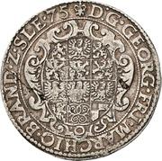 1 Reichsguldiner - Georg Friedrich I. – obverse
