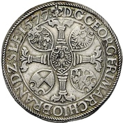 1 Guldenthaler - Georg Friedrich I. – obverse