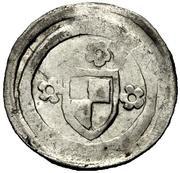 1 Pfennig - Johann III. and Friedrich VI. – obverse
