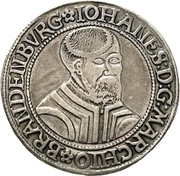 1 Thaler - Johann von Küstrin – obverse