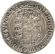 1 Thaler - Johann von Küstrin – reverse