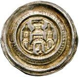 1 Brakteat - Otto II. (Salzwedel) – reverse