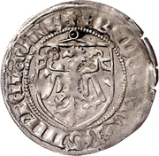 1 Groschen - Friedrich II der Eiserne (Rathenow) – reverse
