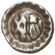 1 Hohlpfennig - Friedrich II., der Eiserne (Stendal) – reverse