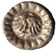 1 Hohlpfennig - Friedrich II. der Eiserne – reverse