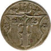 3 Pfennig - Joachim II. Hector – reverse