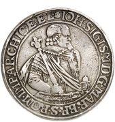2 Thaler - Johann Sigismund – obverse