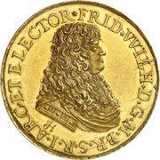 Medal - Friedrich Wilhelm, Battle of Warsaw (Brandenburg) – obverse