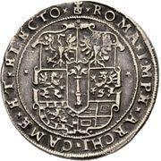 ½ Thaler - Johann Georg – reverse