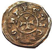 1 Pfennig - Otto IV. – reverse