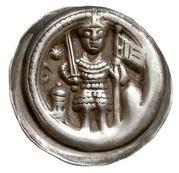 1 Brakteat - Otto II. – obverse