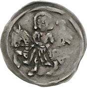 1 Denar - Johann I. and Otto III. – obverse