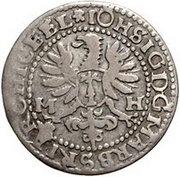 1 Groschen - Johann Sigismund – obverse