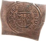 1/12 Thaler - Friedrich Wilhelm (Klippe; Copper pattern strike) – obverse
