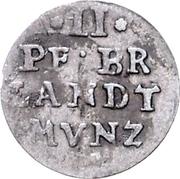 2 Pfennig - Friedrich Wilhelm – reverse