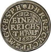 1/12 Thaler - Friedrich III. – reverse