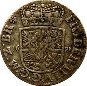 1/12 Thaler - Friedrich III – obverse