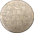 6 Pfennig - Friedrich III. – reverse