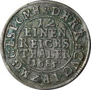 1/12 Thaler - Friedrich Wilhelm – reverse