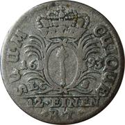 1/12 Thaler - Friedrich III – reverse