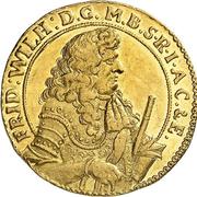 1 Ducat - Friedrich Wilhelm (Guinea-Ducat) – obverse