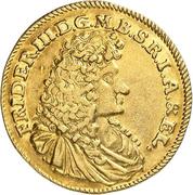 1 Ducat - Friedrich III. (Guinea-Ducat) – obverse
