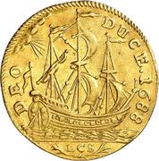 1 Ducat - Friedrich III. (Guinea-Ducat) – reverse