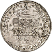 1 Thaler - Friedrich Wilhelm – reverse