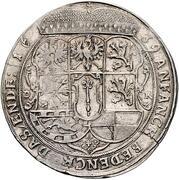 1 Thaler - Georg Wilhelm – reverse