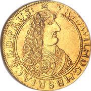 1 Ducat - Friedrich Wilhelm (Trade Coinage) – obverse
