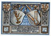 10 Pfennig (Forst in der Lausitz) – obverse