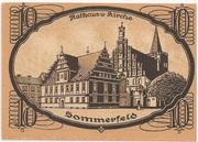 10 Pfennig (Sommerfeld) – reverse