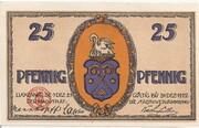 25 Pfennig (Luckenwalde) – obverse