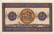 25 Pfennig (Luckenwalde) – reverse