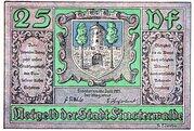 25 Pfennig (Finsterwalde) – obverse
