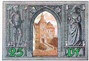 25 Pfennig (Finsterwalde) – reverse