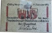 10 Pfennig (Brandenburg an der Havel) – reverse