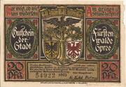 20 Pfennig (Fürstenwalde an der Spree) – obverse