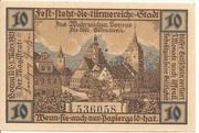 10 Pfennig (Sorau ) – reverse