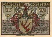 25 Pfennig (Forst in der Lausitz) – obverse