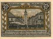 25 Pfennig (Forst in der Lausitz) – reverse