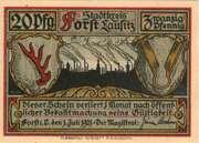 20 Pfennig (Forst in der Lausitz) – obverse