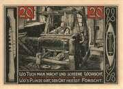 20 Pfennig (Forst in der Lausitz) – reverse