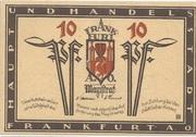 10 Pfennig (Frankfurt an der Oder) – obverse