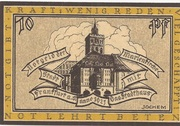 10 Pfennig (Frankfurt an der Oder) – reverse
