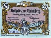 25 Pfennig (Rheinsberg) – obverse