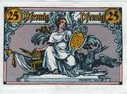 25 Pfennig (Rheinsberg) – reverse