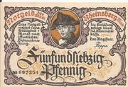 75 Pfennig (Rheinsberg) – obverse