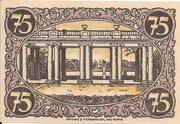 75 Pfennig (Rheinsberg) – reverse