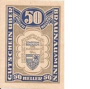 50 Heller (Braunau) -  obverse